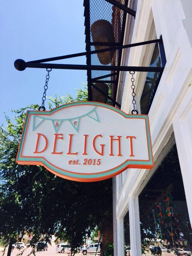 Be Delight Sign